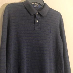 Polo Ralph Lauren Men's Striped Gray Shirt